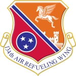 Crest for the 134 Air Refueling Wing