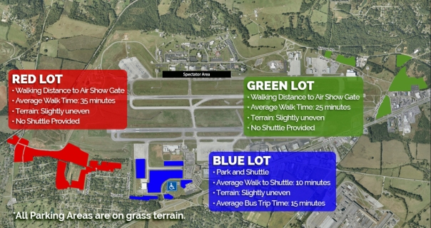 Updated Parking Map