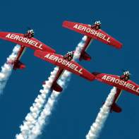 Aeroshell Aerobatic Team // For more information: http://www.naat.net/